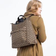 3dbb571ffb MOCHILA BICOLOR - BOLSOS-TRF   ZARA Colombia Backpack Bags, Leather Backpack,  Fashion