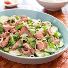 Thai Grilled-Beef Salad