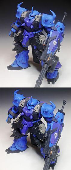 GUNDAM GUY: 1/144 MS-07B-3 Gouf Custom - Customized Build
