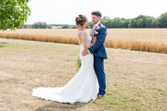 The bride and groom explore the Cambridgeshire countryside that surrounds Bassmead Manor Barns wedding venue August Wedding, Summer Wedding, Our Wedding, Vintage Color Schemes, Multi Way Dress, Wild Orchid, Wedding Breakfast, Barn Wedding Venue, Pretty Lights