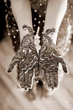 Henna Design, I want one, one of these days.