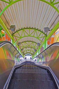 Mockingbird Station escalator by Wilkinswerks  on 500px