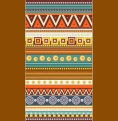 Native Style Colorful Pattern Vector Background - http://www.dawnbrushes.com/native-style-colorful-pattern-vector-background/