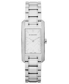 Burberry Watch, Women's Swiss Stainless Steel Bracelet 20mm BU9500 - Women's Watches - Jewelry & Watches - Macy's