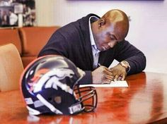 DeMarcus Ware. Best of luck to you. Letting you go was still a Big Mistake! 3/12/2014