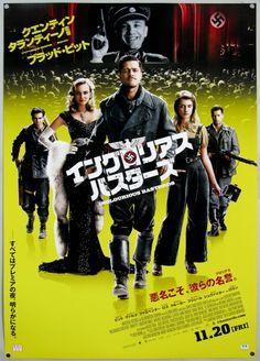 """JAP208 """"Inglourious Basterds"""" Quentin Tarantino (2009)"""