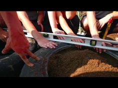 Valhalla's Earthship Greenhouse /// part 2 (First Tire) - YouTube