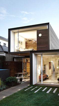 """""""That House"""" by Australia´s Austin Maynard Architects."""