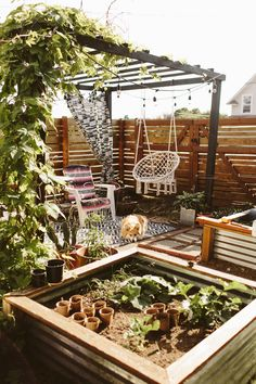 The pergola kits are the easiest and quickest way to build a garden pergola. There are lots of do it yourself pergola kits available to you so that anyone could easily put them together to construct a new structure at their backyard. Building A Pergola, Pergola With Roof, Covered Pergola, Patio Roof, Pergola Plans, Pergola Kits, Pergola Ideas, Metal Pergola, White Pergola