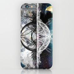TwoWorldsofDesign iPhone & iPod Case