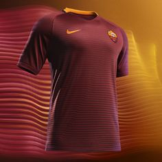 Roma 2016/17 Home kit by Nike : Football Apparel : Soccer Bible