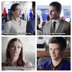 I love this. #Olicity #SnowBarry <3