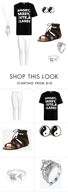 """""""freshman"""" by lashay4240 on Polyvore featuring H&M, EF Collection and Lucky Brand"""