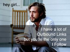When 2 my favorite things (Ryan Gosling pictures and SEO) come together...