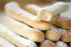 Fartons. Thermomix. Thermomix Bread, Thermomix Desserts, Sweet Recipes, Cake Recipes, Spanish Dishes, Pan Dulce, Diy Food, Pain, Hot Dog Buns