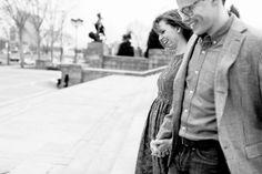 Erika + Andrew // Philadelphia Museum of Art // Philadelphia Engagement Session // alison dunn photography