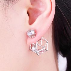 Double Sided Earring – Ivy & Fig Women's Accessory Emporium