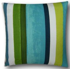 Cushion covers have a cream envelope back. Cushion covers made with Prestigious Textiles quality fabric. Green Cushions, Scatter Cushions, Throw Pillows, Cushion Cover Designs, Cushion Covers, Handmade Cushions, Marketing, Navy Stripes