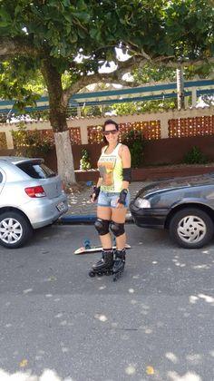 #patins #praia