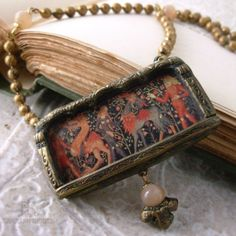 The Wild Creatures Shrine to Medieval Art by ParrishRelics on Etsy