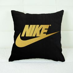 """""""This item is made to order,That Mean This item made especially for you so we don't keep the stock""""  Product Description  This standard pillowcase is roomy in size (16"""" x 16"""" and 18"""" x 18"""") and has been designed to add sophistication and style ...  #PillowCase #PillowCover #pillownike #pillowjustdoit #pillowCustom #Custom #nike #justDoit #Logo #Christmasgift #Gift #pilloegift #Throwpillow"""