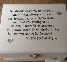 about Sister Wedding Gifts on Pinterest Wedding Gift For Sister ...