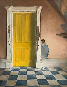 Ode to yellow..   The House with the Yellow Door