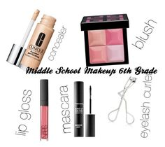 """Middle School Makeup 6th Grade"" by maris24 on Polyvore featuring beauty, Clinique, Givenchy, NARS Cosmetics, Maybelline and MAKE UP FOR EVER"