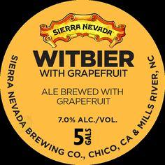 mybeerbuzz.com - Bringing Good Beers & Good People Together...: Sierra Nevada - Witbier With Grapefruit