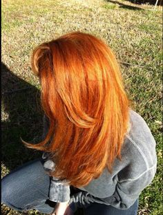 Copper Red #hairstyles, #haircuts, #hair, #pinsland, https://apps.facebook.com/yangutu