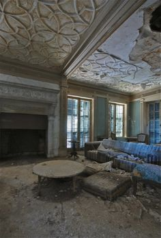 Abandoned in 1980s. Hurstmont Estate. New Jersey.