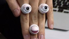Robotic rings for wearable robotic interaction #DigInfo