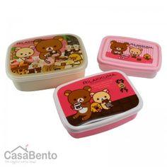 Bento Rilakkuma - Salon de thé x 3 | Rilakkuma Bento Boxes - Tea Room x 3 $17.21