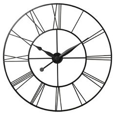"Grafton Oversized 45"" XXL Wall Clock"