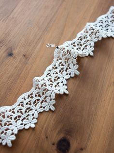 Chemical lace  Flower Crown1yard by prettyribbon on Etsy, $4.50