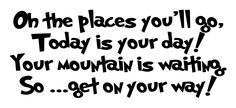 Dr. Seuss...Every kid should see this at the start of their day ;o)