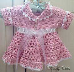 Red heart free crochet pattern.