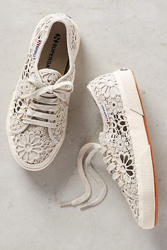 Superga Macrame Sneakers - anthropologie.com