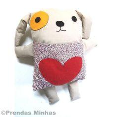 Cachorrinho de Pano - Naninha - COSTURA