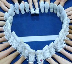 look at all of those Nfinity shoes. Cheer Hair, Cheer Up, Nfinity Cheer Shoes, Picture Ideas, Photo Ideas, Cheer Pom Poms, Cheerleading Shoes, Cute Cheer Pictures, Best Bow