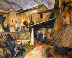Farm buildings France - Roger Fry