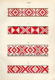https://flic.kr/p/fQsk8o | Белорусский народный орнамент - 1953_81 | Belarusian ethnic embroidery