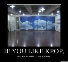 I love this room truly especially when I got to watch exo practice dance it's so cute to see them mess up hehe <3
