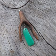 Unique Chrysoprase necklace Australian by NaturesArtMelbourne, [Fun jewelry for the outdoorsy woman]