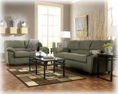 Kaitlyn Leather Living Room Set