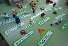 Lectura i comprensió Cats Cast, English Lab, Alphabet Activities, Reggio Emilia, Comprehension, Valencia, Book Worms, Language, Teaching