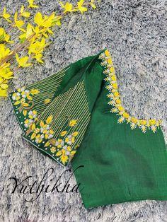 Blouse Designs High Neck, Blouse Designs Catalogue, Wedding Saree Blouse Designs, Pattu Saree Blouse Designs, Hand Work Blouse Design, Simple Blouse Designs, Stylish Blouse Design, Fancy Blouse Designs, Sari Blouse