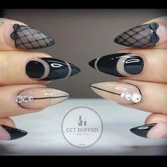 awesome Stiletto nails KorTeN StEiN☻...