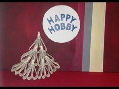 Weihnachtsbaum / Tanne aus 21 Buchseiten, Upcycling Buch/Papier DIY - Nr.85 - YouTube