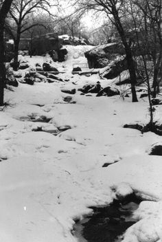 A color photo of Pipestone National Monument in March, 1986.  Southwestern Minnesota.  Film-based photo.